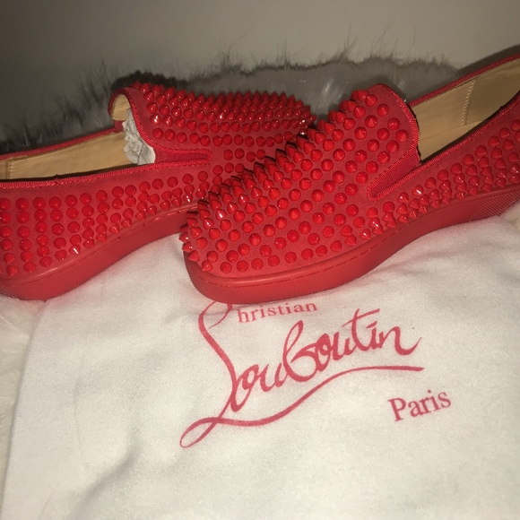 Christian Louboutin Shoes | Red Spiked